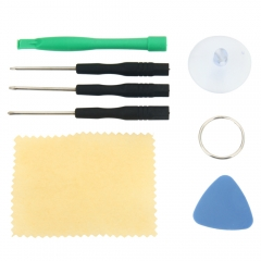 7pcs Professional Repairing Assembly Disassemble Tool Kit Cellphone Remover black & green & blue one size