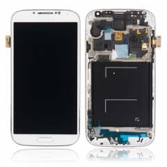 LCD Replacement Screen Digitizer White for Samsung Galaxy S4 i9505 I9508 white one size