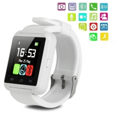U8 Bluetooth Smart Watch New Stylish Touch Screen  Dial Phone White white one