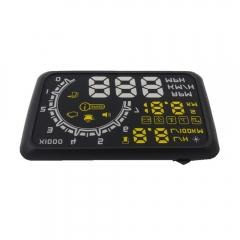 "W02 5.5"" OBD II Car Head-up Display (HUD) with Speed/Speed Limit Reminder"
