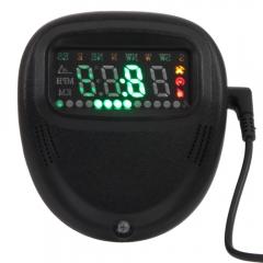 Universal A1 Car GPS HUD Head Up Display GPS Speedometer MPH Speed Warning