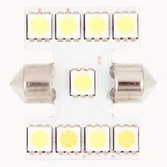 9 Light Two-point 5050 SMD Car Light Bar