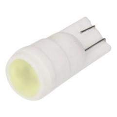 12V T10-1.5W Ceramic Lamp Car Lamp White