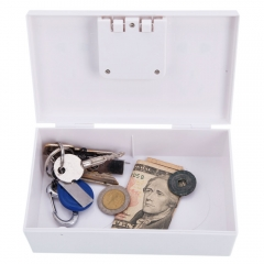 Plug Socket Shape Storage Box Hidden Safe Secret Jewelry Security Money Cash Box white nomal