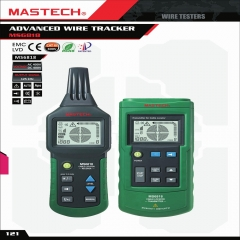 MASTECH MS6818 Advanced Metal Pipe Underground Locator Wire Cable Tester Tracker as picture one size