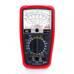 KT-7244 Pointer Display Analog Multimeter Volt Meter AC DC OHM Tester orange one size