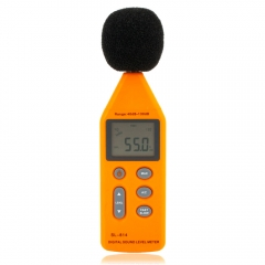 SL814 USB 40-130dBA Digital Sound Noise Level Meter Tester Decibel Pressure as picture one