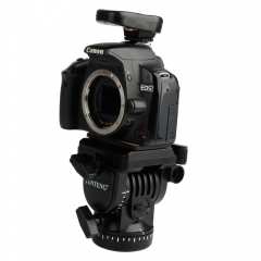 YT-950 Tripod Action Fluid Drag Head Video Camera For DSLR Shooting Filming black one size
