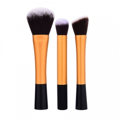 pcs Professional Long Handle Nylon Hair Cosmetic Makeup Brushes Kit Luxury Golden Handle as picture