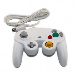 New Wired Controller GamePad for Nintendo Gamecube GC WII White