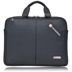 """Men SwissGear 14""""Notebook Laptop Case Bag Briefcase Messenger Shoulder Work Bag black one"""