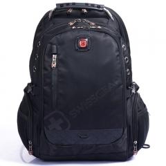 "Men SwissGear 15.6"" Laptop Backpack Travel Camping Rucksack School Big Bag black one size"