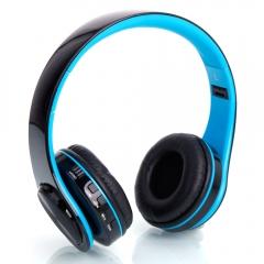 HY-812 Fold Wireless Head Wear Type Bluetooth V3.0 + EDR Stereo Sport Bluetooth Headset