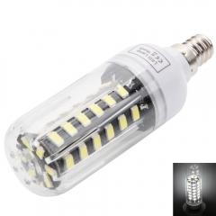 5733 SMD E12 5W 42 LEDs Corn Lamp Bulb White Light AC 100-120V + Cover white one size 5w