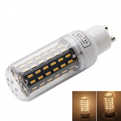 GU10 9W 3000-3500K Warm White Light 96-SMD4014 LED Corn Lamp Bulb (AC 220-240V) white one size 9w