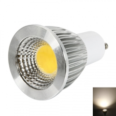 GU10 9W 400-450lm COB LED 2800-3200K Warm White Light Adjustable Spot Light Bulb warm white one size 9w
