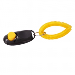 Dog Click Clicker Training Trainer black one