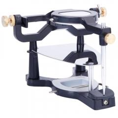 Dental Adjustable Magnetic Tooth Articulator Lab Equipment Instrument black