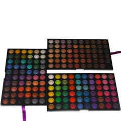 180 Colors Eyeshadow Palette Shimmer/Matte Eye Shadows Makeup Cosmetic Box Set as picture