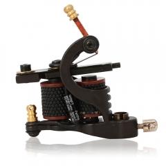 Professional 8 Wrap Coils Iron Tattoo Machine Gun for Liner Shader black