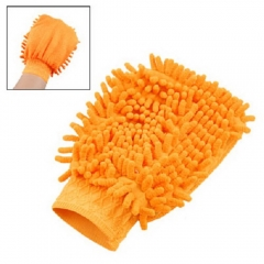 Car Vehicle Table Elastic Cuff Mitt Glove Cleaning Tool Random Color