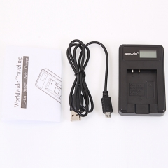 LCD Show Screen Charger for for Olympus LI-50B/70B/90B Pentax D-LI92 black one size