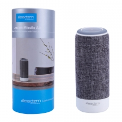 Portable Bluetooth Wireless Stereo Bass Computer Speakers gray 3.7v dc one