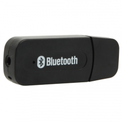 Bluetooth Wireless 3.5mm Aux IN Audio Stereo Music Receiver Adapter A2DP black one