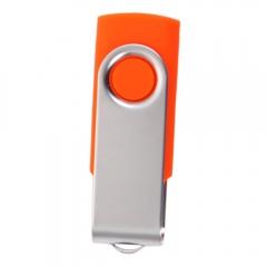 Durable 4 GB USB 2.0 Flash Drive Memory Thumb Swivel Design 4GB U Disk orange one size 4gb