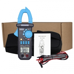 BSIDE ACM03 Plus 400A Auto Range AC & DC Current LCD Digital Clamp Multimeter as picture one