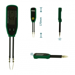 MASTECH MS8910 Tweezers Smart SMD RC Resistance Capacitance Diode Meter Tester as picture one