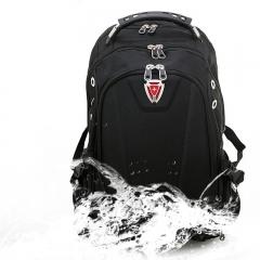 SwissGear Men Large Capacity Laptop Backpack Computer Bag School Travel Bookbag black one size