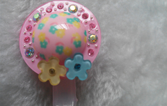Doodle Bear single hat clip