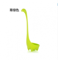 1pc Nessie Spoon Creative Cute Dinosau Spoon Large Soup Spoon Kitchen Utensils Cooking Tools green