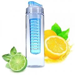 2016 Newest 700ML Fruit Infuser Sports Health Juice Maker Travel Portable Bottles Lemon Juice Maker red
