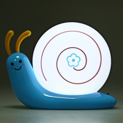 Unique Design Lovely Table Lamps Cute High Quality LED Snail Lamp Rechargeable Night Bed Light