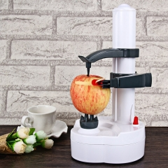 2016 New Arrival Electric white stainless steel potato peeler fruit Vegetable Peeler Potato Cutter