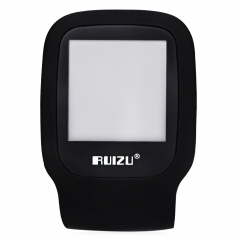 RUIZU X09 FM Radio 1.5 Inch TFT LCD Screen TF Card Sport MP3 Player Build in Speaker with E-Book black