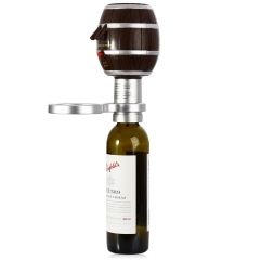 TOKUYI TO - AP1009 Barrel Shaped Wine Decanter Electric Cider Pump Aerator Pourer