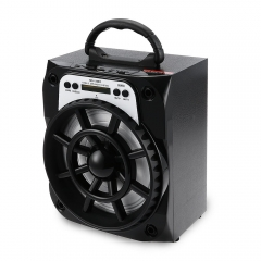 Fun Multifunctional Portable Exquisite MS - 135BT Portable High Power Output FM Radio black battery MS - 135BT