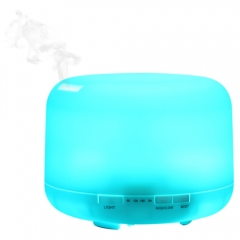 Fashion Air Humidifier Color Changing Light 500ML Humidifier Aroma Essential Oil Diffuser Mist Maker