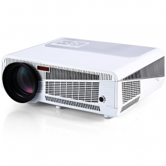 TOPS HTP LED-86+ Full HD 1080P Multimedia LED 3600 Reliable Lumens Projector White WiFi Support HDMI white one size