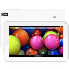 9 inch Android 4.4 Tablet PC Cortex A9 Quad Core 1.3GHz WVGA Screen Dual Cameras WiFi 8GB ROM white