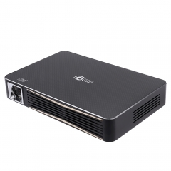 TOUMEI V3 DLP Projector 300 ANSI Lumens 1280 x 800 Pixels Wireless Bluetooth 4.0 black eu plug