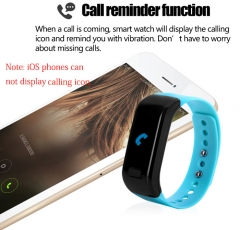 Moving up Bluetooth 4.0 Smart Watch Sport Wristband black one size