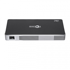 TOUMEI DLP C800i Projector Android 4.4 80 Lumens 1080P Dual Band WiFi Bluetooth 4.0_GRAY gray eu plug