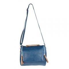 Women Handbag blue one size