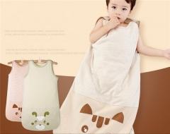 Baby sack SWISSANT® Baby nest Sleep bag Vest,100% orangic cotton,4 season,Khaki,6 mnths khaki m