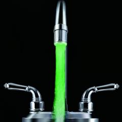 Multiple Color LED Faucet light kitchen basin 7 color jump change light water faucet