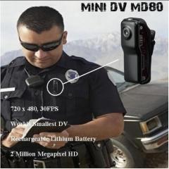 Super Mini Spy Digital MD80 Thumb Video Recorder Camera Webcam Black As the picture